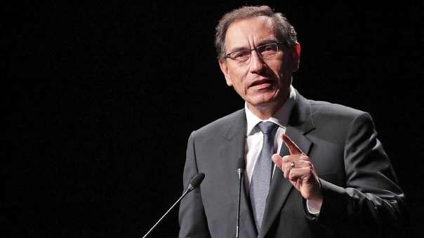Martín Vizcarra durante la clausura de la XI Cumbre Pyme del APEC.
