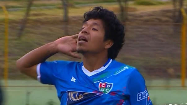 Willyan Mimbela debutó profesionalmente en el 2010 con Universitario de Deportes.