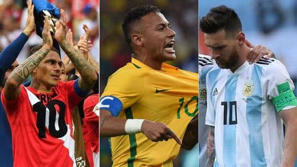 Perú: las ubicaciones de las selecciones sudamericanas en el Ránking FIFA