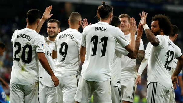 Gareth Bale llegó al Real Madrid en la temporada 2013/2014.