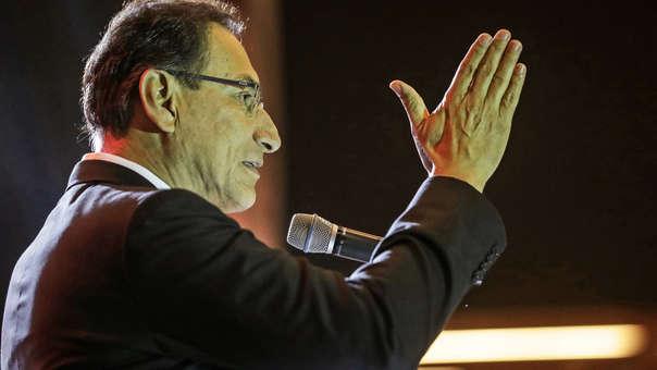 Martín Vizcarra asumió la Presidencia de la República tras la renuncia de Pedro Pablo Kuczynski.