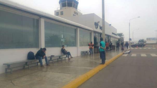 Aeropuerto se ubica en Huanchaco.