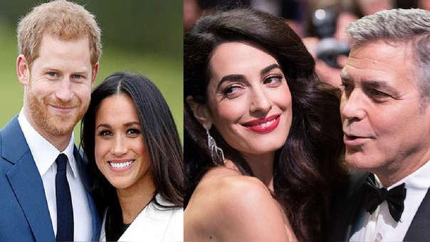 Los duques de Sussex, Harry y Meghan, guardan amistad con George y Amal Clooney.
