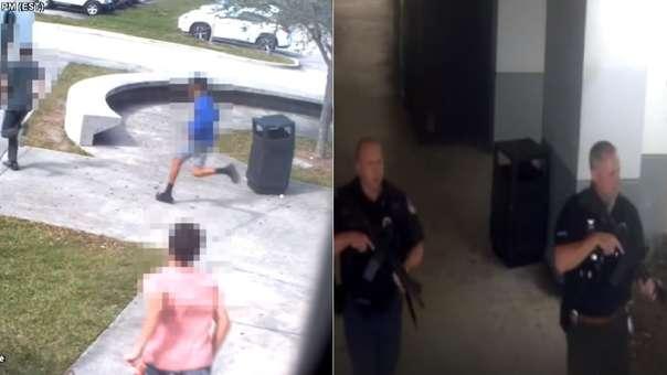 La difusión de las imágenes fue autorizada por la Justicia de Florida.