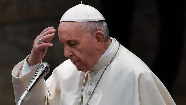 El papa Francisco durante su ausencia general del miércoles 22 de agosto.