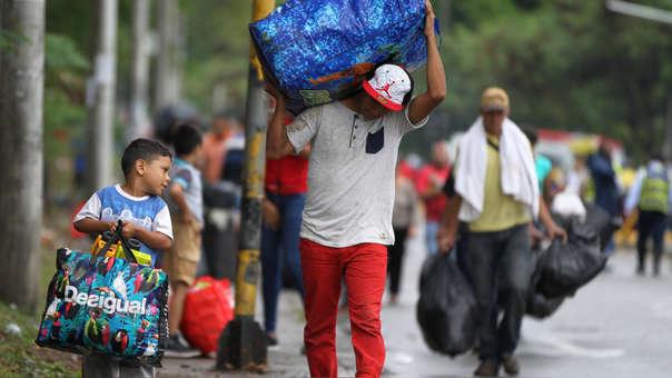 COLOMBIA VENEZUELA CRISIS