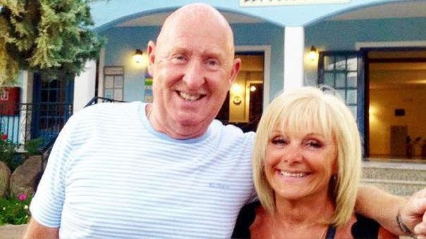 John y Susan Cooper, la pareja cuyo viaje a Egipto resultó ser fatal.