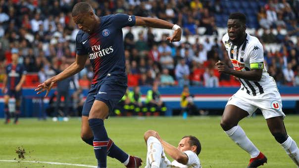 Kylian Mabppé lleva 24 goles y 17 asistencias en los 46 partidos que ha jugado con la camiseta del PSG.