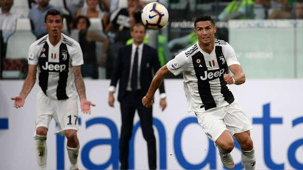 Cristiano Ronaldo llegó a la Juventus luego de que el equipo de Turín pagara 120 millones de euros por su pase.