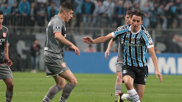 Gremio se mide con Estudiantes de La Plata por la vuelta de los octavos de final de la Copa Libertadores.