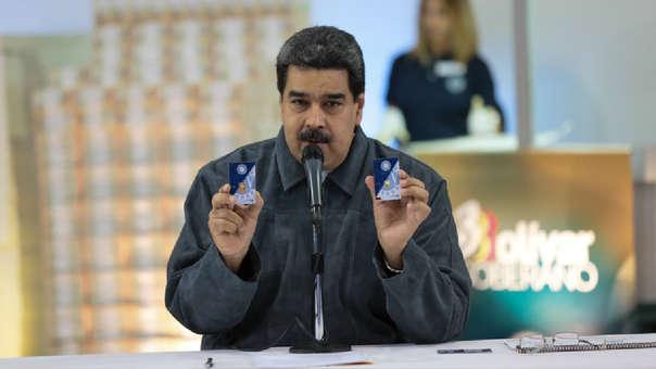 Los 'lingotitos' con los que Maduro asegura se respaldarán los ahorros de los venezolanos.