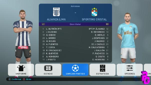 Alianza Lima vs Sporting Cristal PES 2019