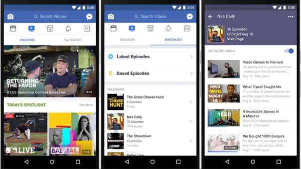 Facebook está disponible en todo el mundo.
