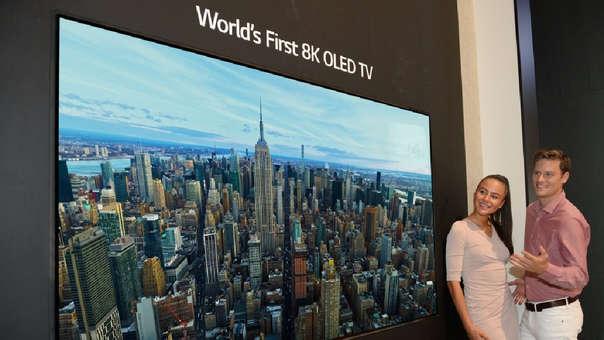 Este es el primer TV 8K en el mundo