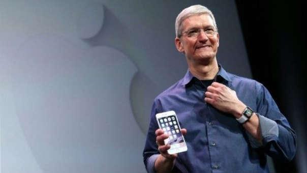 Tim Cook sucedió a Steve Jobs en 2011.