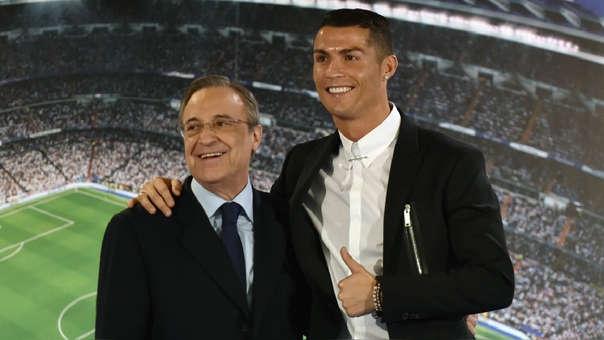 Cristiano Ronaldo y Florentino Pérez se caracterizaron por tener una buena relación pero se enfrío en el último año.