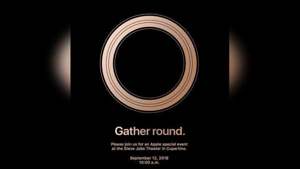 Esta es la invitación al evento más importante de Apple este 2018