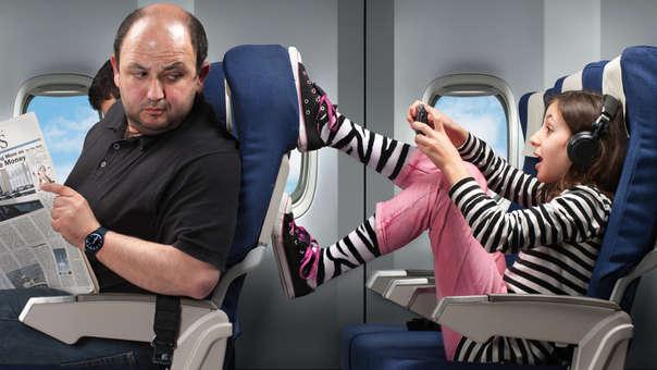A veces, escoger el asiento correcto nos evita malos ratos
