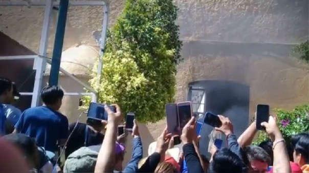 El caso en Hidalgo es similar al ocurrido el día anterior en Puebla.
