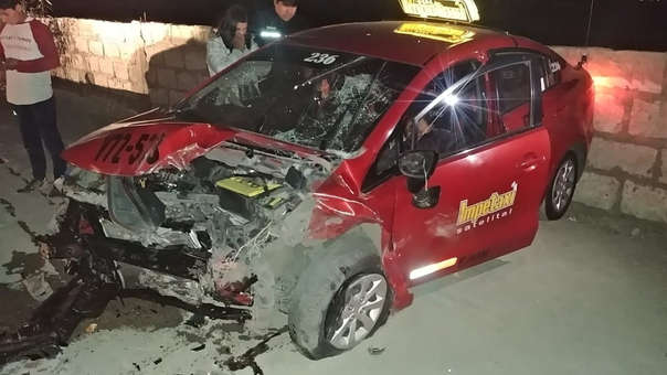 Accidente de tránsito en la Vía de Evitamiento.