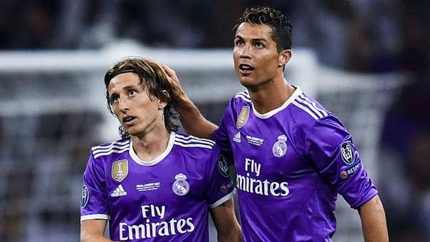 Cristiano Ronaldo y Luka Modric jugaron juntos en el Real Madrid desde la temporada 2012/2013.