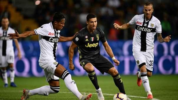 Cristiano Ronaldo todavía no marca un gol oficial con la Juventus.