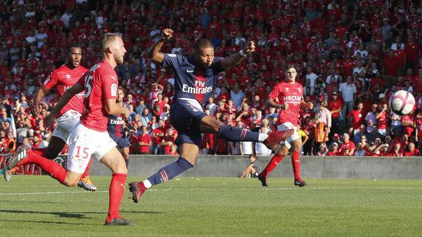 Kylian Mbappé ha marcado 25 goles y ha dado 17 asistencias en los 47 partidos que ha jugado con el PSG.