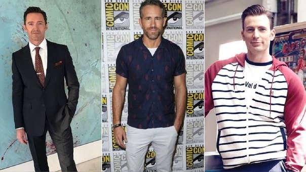Chris Evans Ryan Reynolds Hugh Jackman