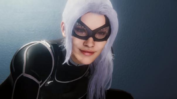 Apreciamos el rediseño de Black Cat en Spider-man. Su aparición no había sido sugerida hasta el momento.