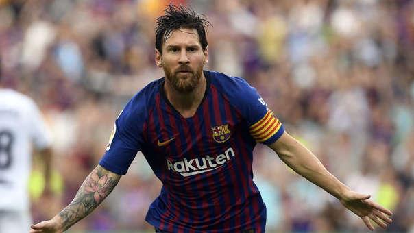 Lionel Messi ya lleva cuatro goles anotados esta temporada en tres fechas de la Liga de España.