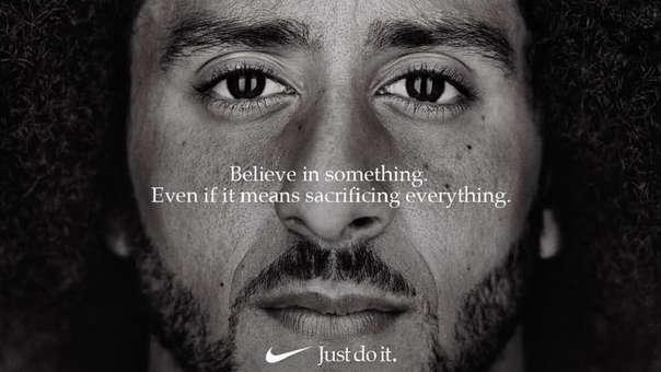 Publicidad con jugador de fútbol americano Kaepernick ha desatado una campaña de boicot contra Nike.