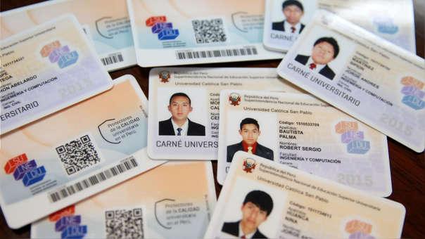 La Sunedu prorrogó por 40 días vigencia de documento que identifica a estudiantes de educación superior.