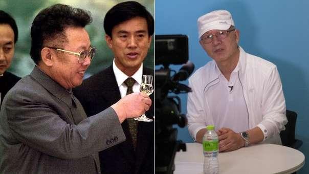 Izquierda: Kim Jong-Il en el 2000 durante una encuentro con la secretario de Estado de EE.UU. Derecha: Park Chae-seo durante su entrevista con la agencia AFP.