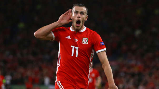 Gareth Bale ha participado en 10 goles en los últimos 10 partidos de Gales.