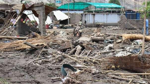 Piura fue una de las regiones más afectadas por las lluvias del Fenómeno El Niño Costero de inicios del 2017.