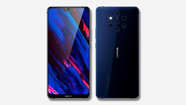 Este es el concepto que Nokia está trabajando para su nuevo smartphone con cinco lentes