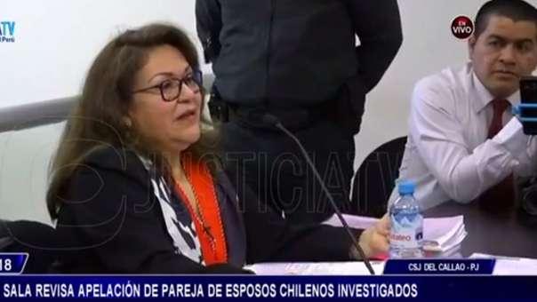 Fiscal Castro señaló que el Ministerio Público insistirá en la denuncia solo por un delito: falsedad ideológica.