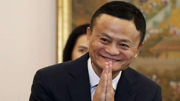 Jack Ma, fundador de Alibaba, luego de una reunión con el primer ministro de Filipinas en abril de este año.