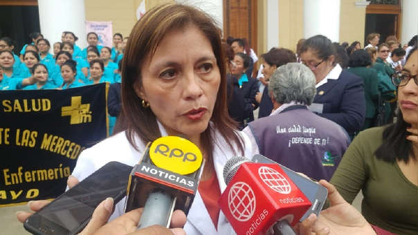 Directora del hospital Las Mercedes, Patricia Chirinos Guevara