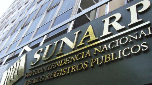 Sunarp será la encargada de administrar esta plataforma.