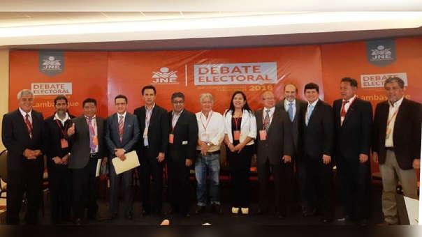 De los 14 candidatos en carrera, 13 asistieron para exponer sus propuestas