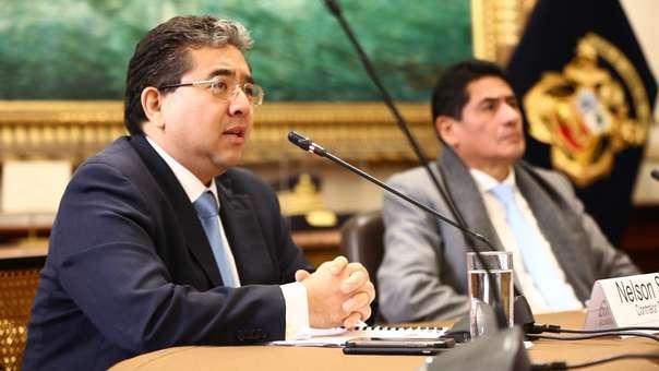 Contralor se presentó en la Comisión de Presupuesto y Cuenta General de la República.