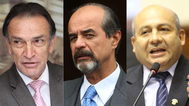 Héctor Becerril, Mauricio Mulder y Moisés Guía se pronunciaron tras las declaraciones de Martín Vizcarra.
