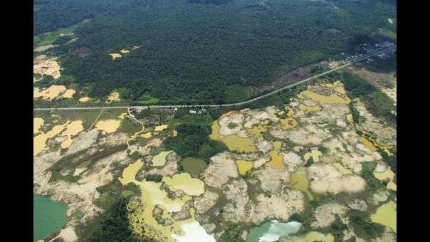 Perú: Deforestación por minería de oro en Madre de Dios es la más alta en los últimos 32 años