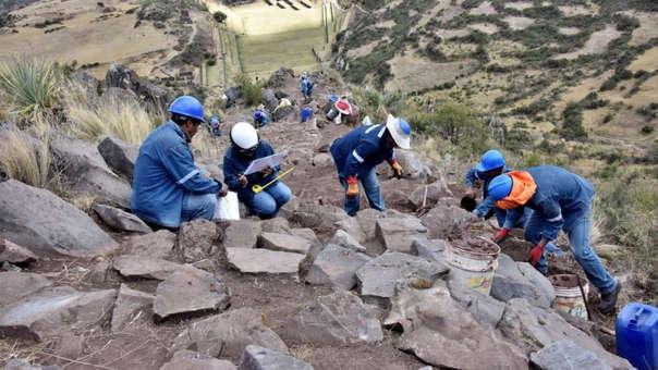 Camino inka en Tipon