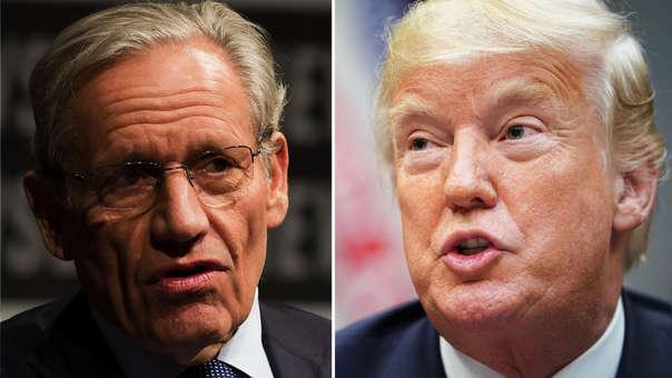 El libro de Bob Woodward ha despertado la ira de Donald Trump.