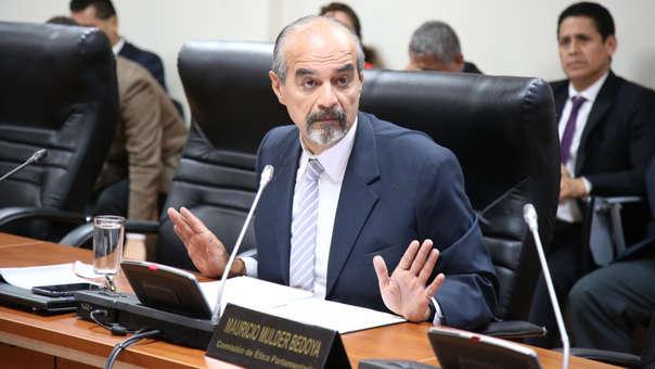 El político explicó además el por qué se aplazó el debate en la Comisión de Constitución sobre reforma del CNM.