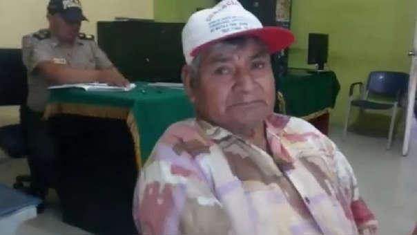 Anciano fue detenido por la Policía