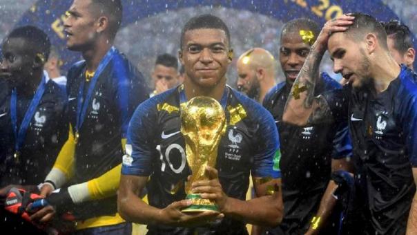 Kylian Mbappé fue una de las figuras de Francia para conseguir ganar el Mundial Rusia 2018.