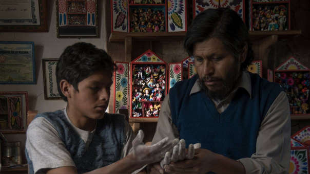 La película está protagonizada por Amiel Cayo, Junior Bejar Roca y Magaly Solier